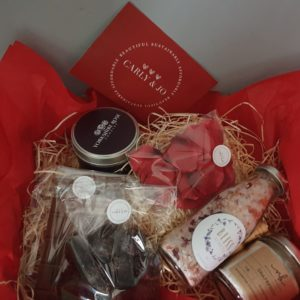 For The One I Love Valentines Gift Box by Carly and Jo