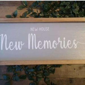 New Home Sign